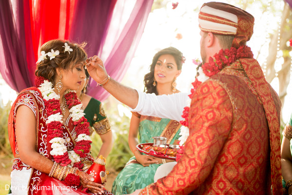 Ceremony in Costa Rica Indian Fusion Destination Wedding by Devi by KumarImages