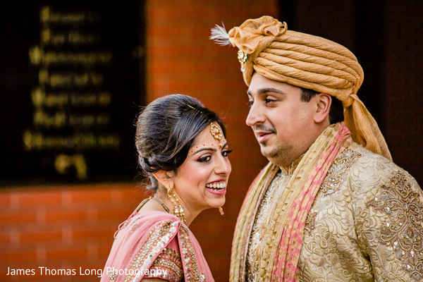 First Look in San Francisco, CA Indian Wedding by James Thomas Long Photography
