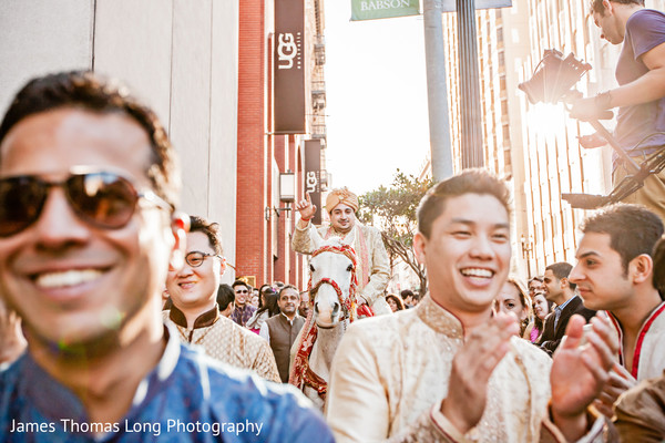 Baraat in San Francisco, CA Indian Wedding by James Thomas Long Photography