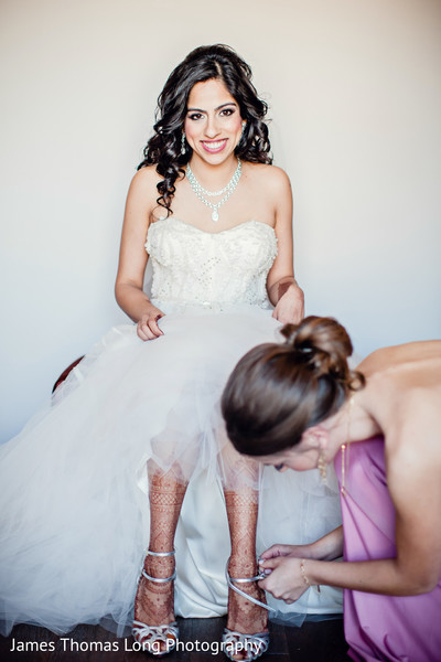 Getting Ready in San Francisco, CA Indian Wedding by James Thomas Long Photography