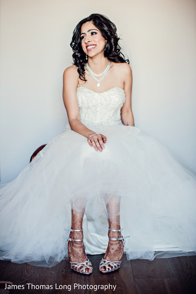 Bridal Portrait in San Francisco, CA Indian Wedding by James Thomas Long Photography