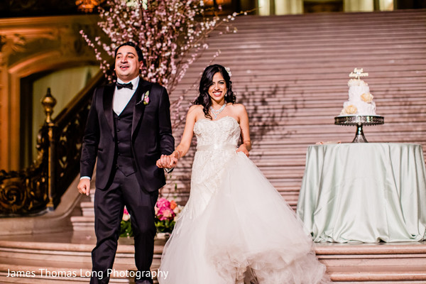 Reception in San Francisco, CA Indian Wedding by James Thomas Long Photography