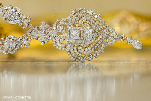 Bridal Jewelry in Houston, TX Indian Wedding by Veroa Fotografia