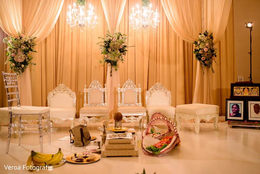 Floral Decor In Houston TX Indian Wedding By Veroa Fotografia
