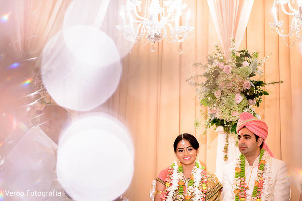 Ceremony in Houston, TX Indian Wedding by Veroa Fotografia