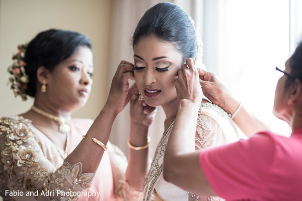 Getting Ready in Las Vegas, NV South Indian Fusion Wedding by Fabio and Adri Photography