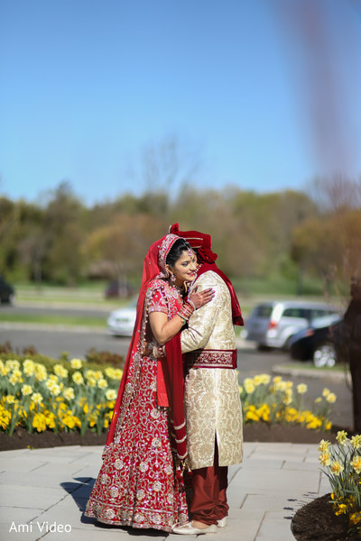 Portraits in Somerset, NJ Indian Wedding by Ami Video