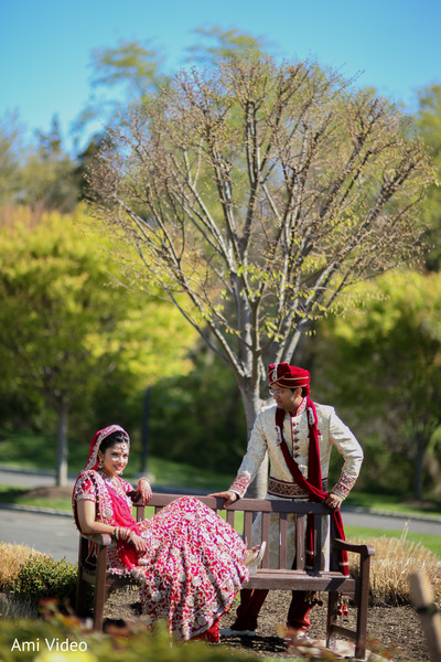 indian wedding first look portraits,indian wedding first look,indian bridal fashions,suit,indian wedding lengha,indian groom fashion,indian groom sherwani