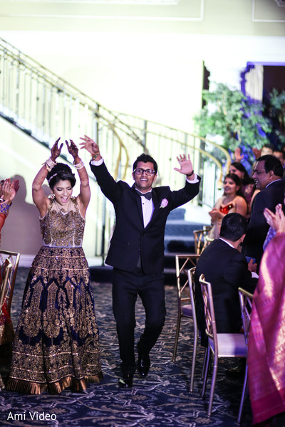 Reception in Somerset, NJ Indian Wedding by Ami Video