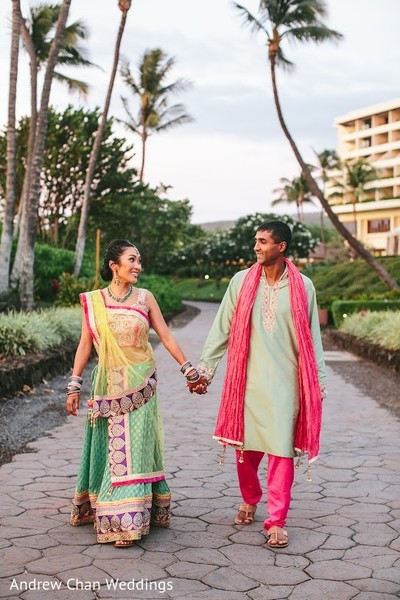 indian sangeet,indian pre-wedding fashion,indian bridal hair and makeup,indian wedding portraits,indian wedding party portraits,indian wedding sangeet portraits