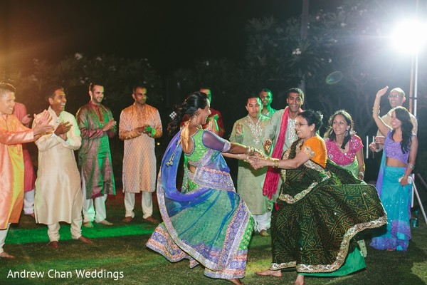 indian sangeet,indian pre-wedding fashion