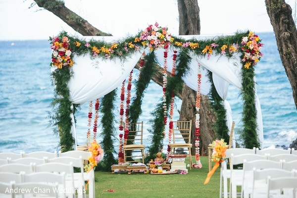 indian destination wedding,indian wedding ceremony,indian wedding mandap,outdoor indian wedding decor