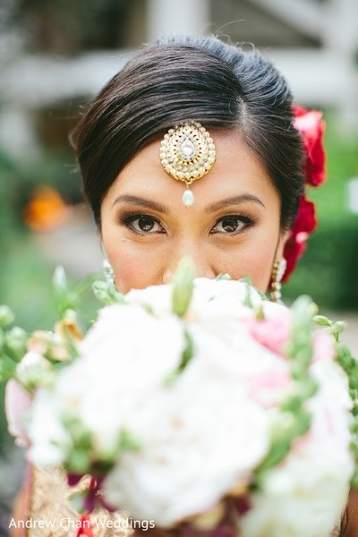 Portraits in Maui, HI Destination Indian Fusion Wedding by Andrew Chan Weddings