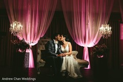 The reception takes place!