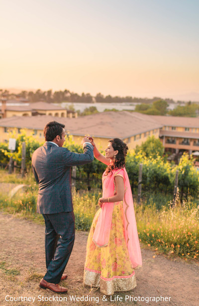Portraits in Napa, CA Indian Wedding by Courtney Stockton Wedding & Life Photographer