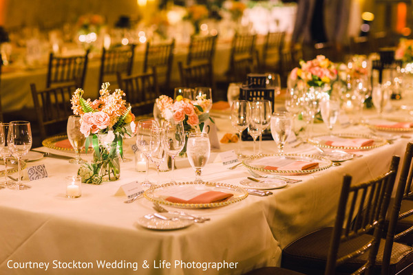 indian wedding reception,indian wedding reception floral and decor,indian wedding floral and decor,table settings