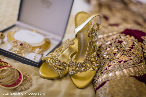 Shoes in Las Vegas, NV Indian Fusion Wedding by Ella Gagiano Photography