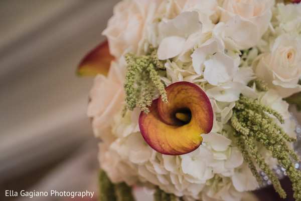 Bridal Bouquet in Las Vegas, NV Indian Fusion Wedding by Ella Gagiano Photography