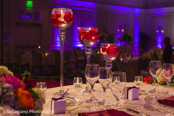 Floral & Decor in Las Vegas, NV Indian Fusion Wedding by Ella Gagiano Photography
