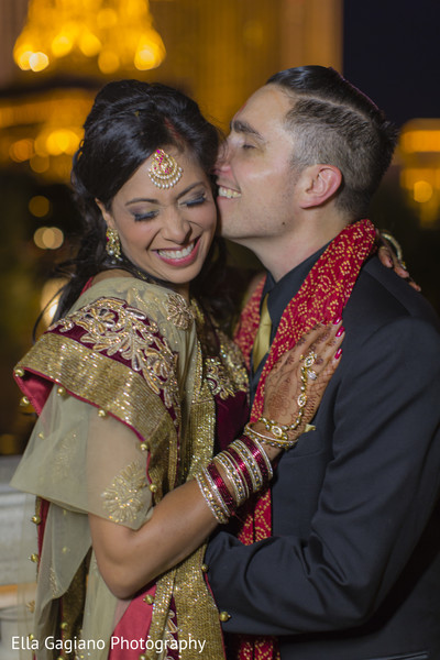 Wedding Portrait in Las Vegas, NV Indian Fusion Wedding by Ella Gagiano Photography