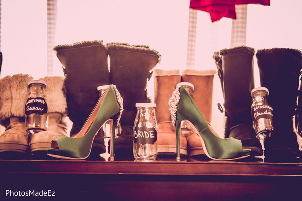 Shoes in Mahwah, NJ Indian Wedding by PhotosMadeEz
