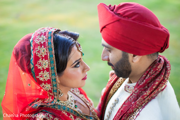Portraits in Old Windsor, England Sikh Indian Wedding by Channa Photography