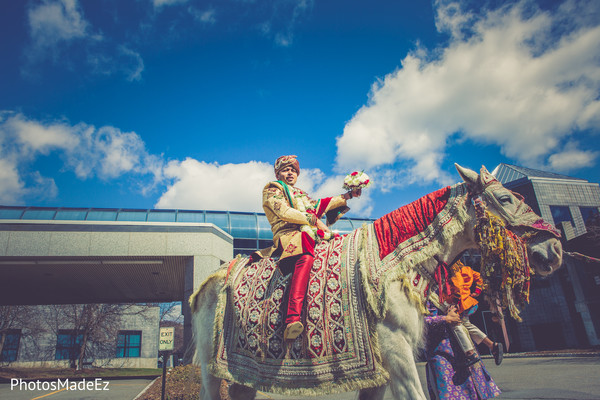 Baraat in Mahwah, NJ Indian Wedding by PhotosMadeEz