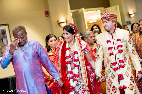 Ceremony in Mahwah, NJ Indian Wedding by PhotosMadeEz
