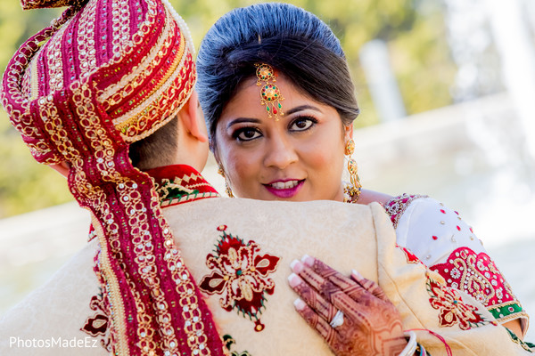 Wedding Portrait in Mahwah, NJ Indian Wedding by PhotosMadeEz