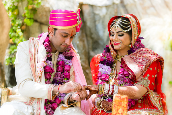indian wedding,outdoor indian wedding,indian wedding ceremony,tikka,indian wedding makeup