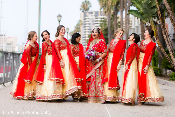 Portraits in Marina del Rey, CA Indian Wedding by Lin & Jirsa Photography