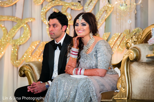 indian fusion wedding reception,indian sari,tuxedo,indian bridal hair and makeup