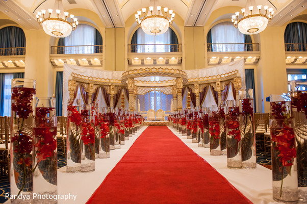 Floral & Decor in Philadelphia, PA Indian Wedding by Pandya Photography