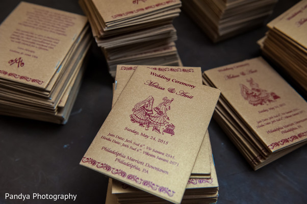 Stationery in Philadelphia, PA Indian Wedding by Pandya Photography