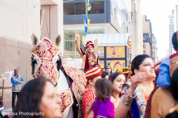 Baraat in Philadelphia, PA Indian Wedding by Pandya Photography