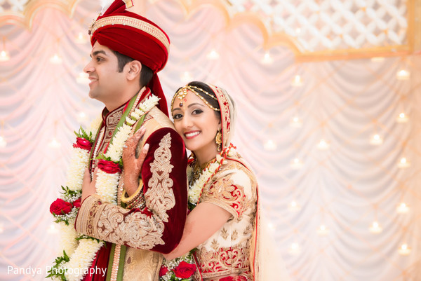 Wedding Portrait in Philadelphia, PA Indian Wedding by Pandya Photography