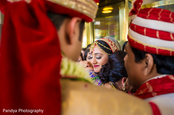 Ceremony in Philadelphia, PA Indian Wedding by Pandya Photography