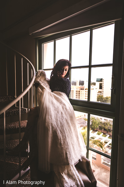 Getting Ready in Miramar, FL South Asian Wedding by I Alam Photography