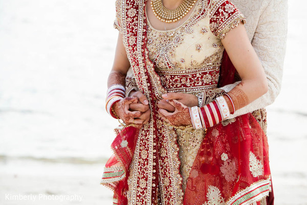 Portraits in Fort Myers, FL Destination Indian Wedding by Kimberly Photography