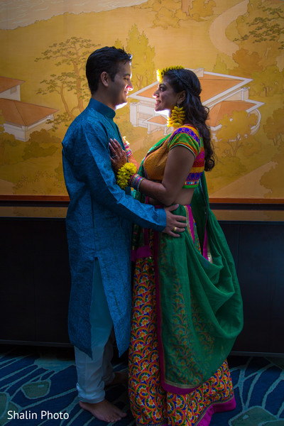 Pre-Wedding Portrait in Itasca, IL Indian Fusion Wedding by Shalin Photo