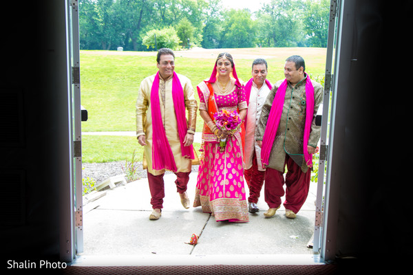 Ceremony in Itasca, IL Indian Fusion Wedding by Shalin Photo