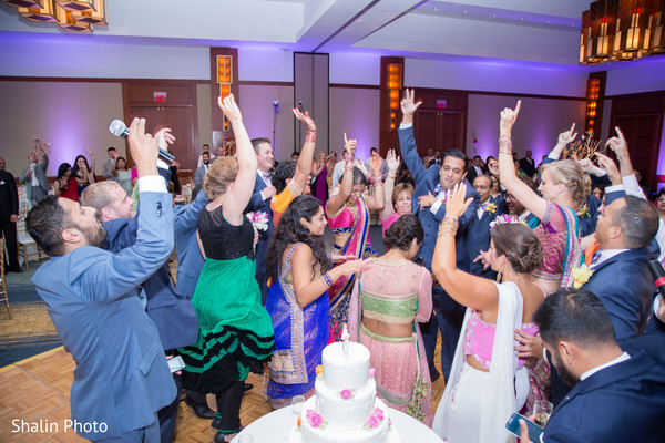 Reception in Itasca, IL Indian Fusion Wedding by Shalin Photo