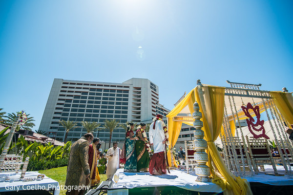 Ceremony in Irvine, CA Indian Wedding by Gary Coelho Photography
