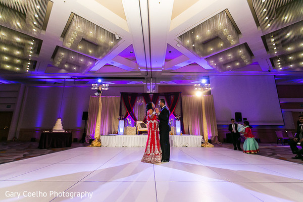 Reception in Irvine, CA Indian Wedding by Gary Coelho Photography