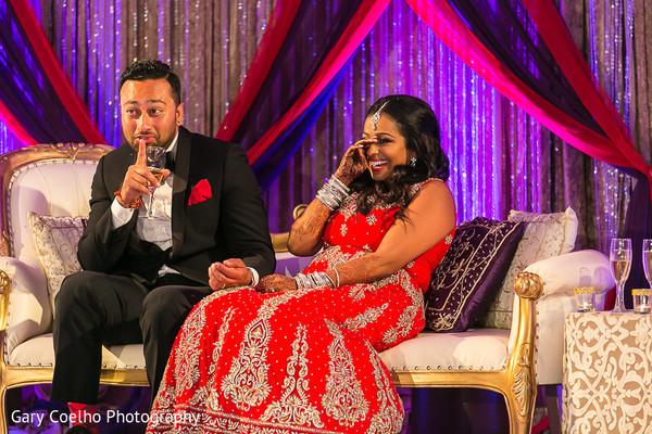 indian fusion wedding reception,reception lengha,indian weddings