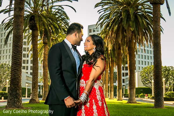 indian wedding portraits,outdoor indian wedding portraits,indian fusion wedding reception,indian groom fashion,indian bridal hair and makeup,reception lengha,indian weddings