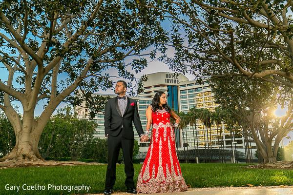 indian wedding portraits,outdoor indian wedding portraits,indian fusion wedding reception,indian groom fashion,reception lengha,indian weddings