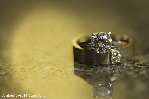 Wedding Rings in Fresno, CA South Asian Wedding by Ambient Art Photography