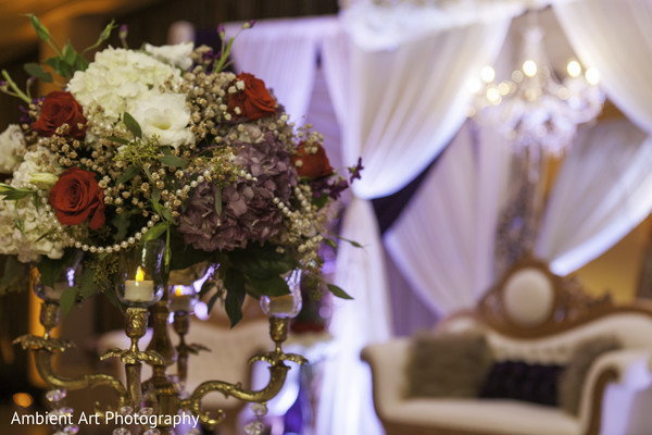 Floral & Decor in Fresno, CA South Asian Wedding by Ambient Art Photography