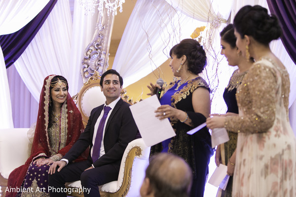 Ceremony in Fresno, CA South Asian Wedding by Ambient Art Photography